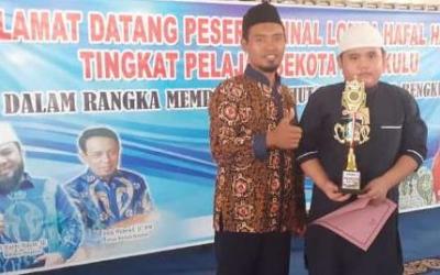 Siswa SDIT Al Hasanah Juara 1 Lomba Hafalan Hadits Tingkat Kota Bengkulu 2020