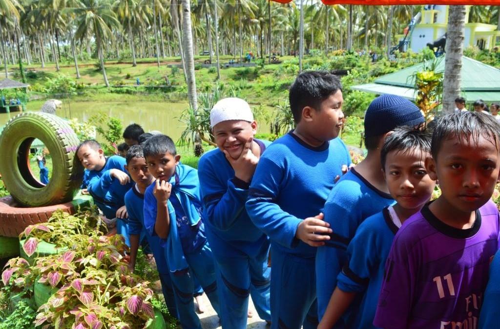 Kegiatan Outbond Kids SDIT Al Hasanah Desember 2015