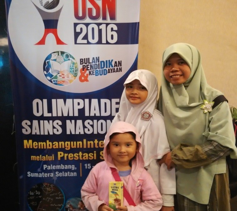 SDIT Al Hasanah Mengikuti OSN IPA di Palembang