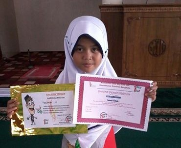 SDIT Al Hasanah Meraih Juara OPQ MTQ ODOJ Provinsi Bengkulu