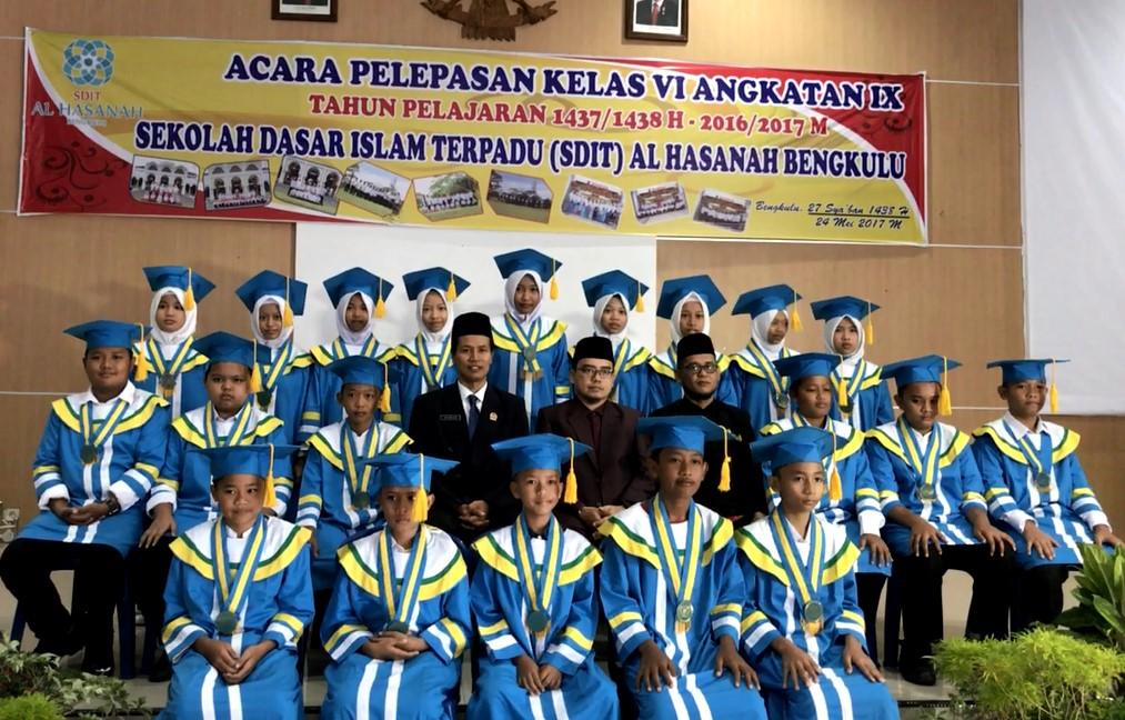 Pelepasan Kelas 6 Angkatan IX SDIT Al Hasanah