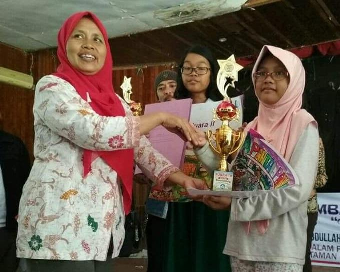 """SDIT Al Hasanah Juara 3 Lomba Melukis """"Pesona Bumi Raflesia"""""""