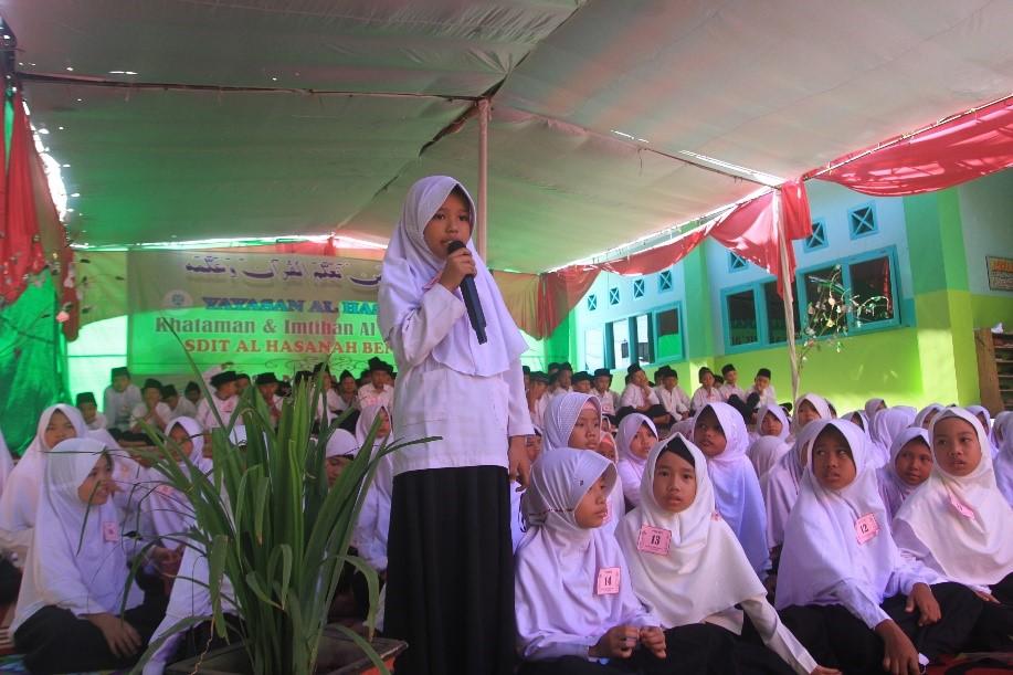 187 Siswa SDIT Al Hasanah Wisuda Khataman dan Imtihan ke-2