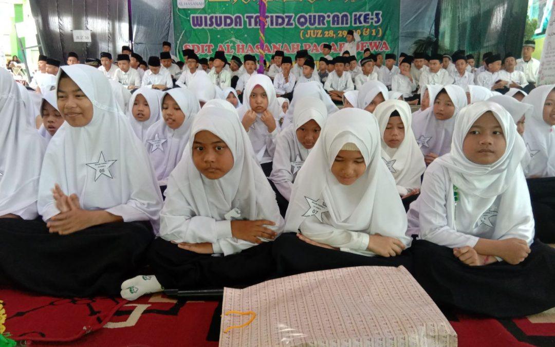 SDIT Al Hasanah Wisuda 195 Siswa Tahfidz Quran