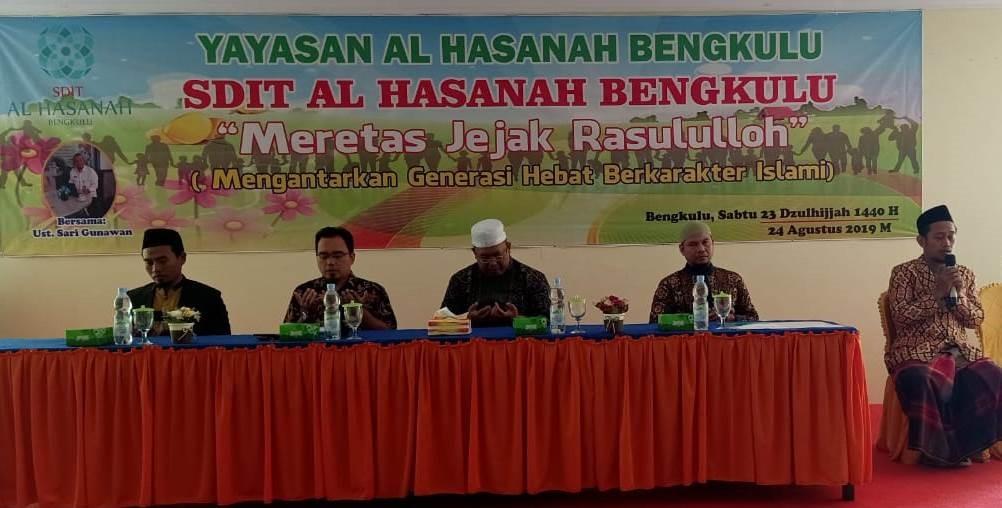 Antusias Orangtua Kelas 1 SDIT Al Hasanah Ikuti Islamic Parenting