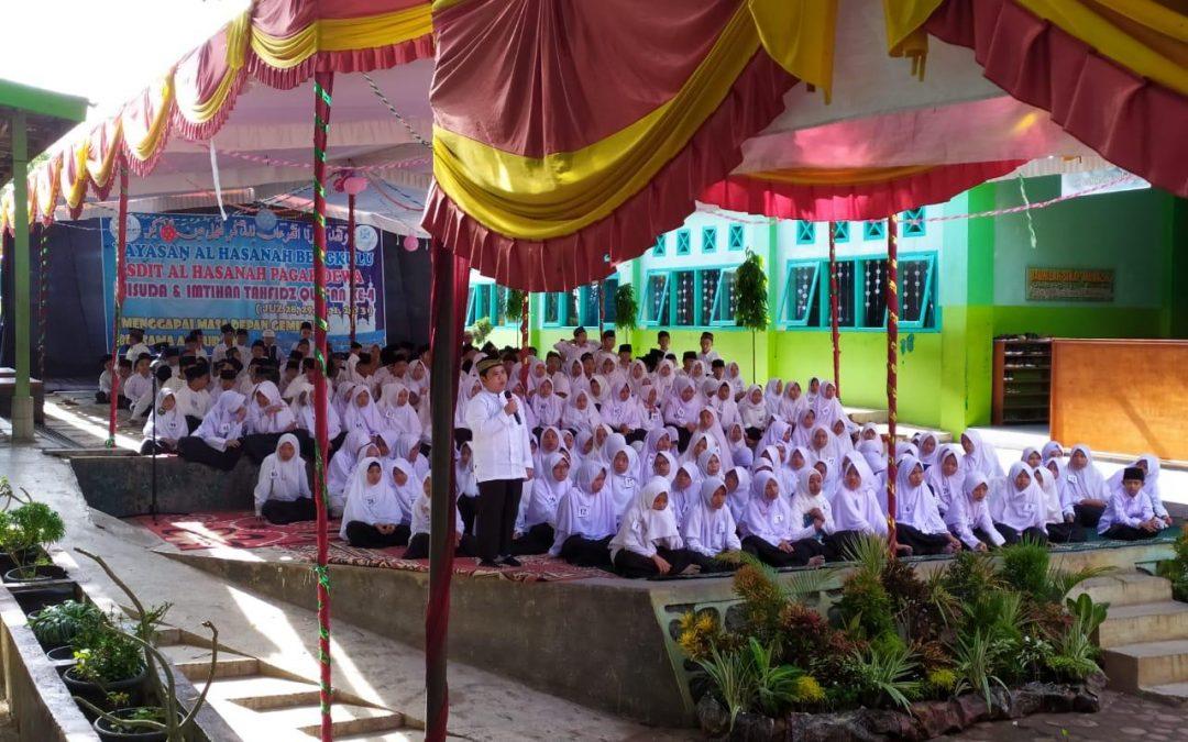 250 Siswa SDIT Al Hasanah Wisuda Khataman dan Imtihan ke-4