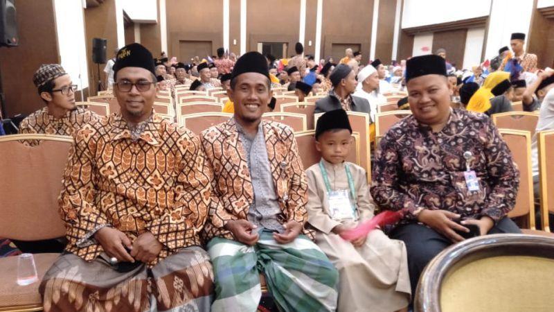 Terbaik 10 di Festival Qiraati Nasional (FQN) ke-8 di Semarang