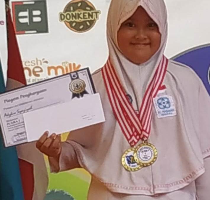 Siswa SDIT Al Hasanah Raih 2 Medali Emas Panahan