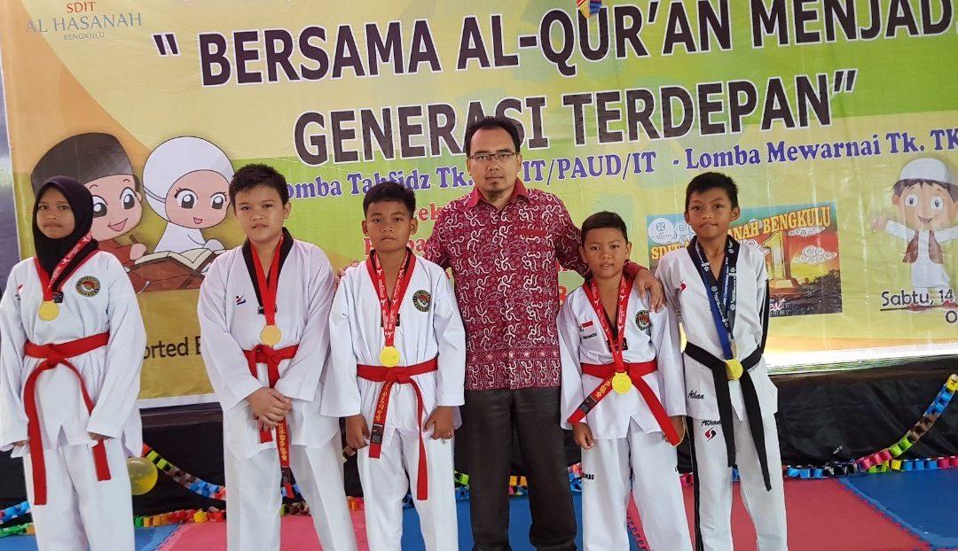 Taekwondo SDIT Al Hasanah Raih 5 Medali Emas
