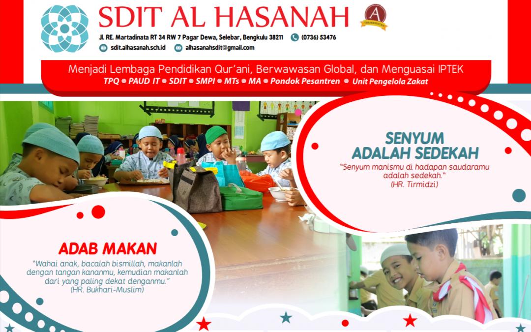 Pengumuman Calon Siswa Baru SDIT Al Hasanah 1 Pagar Dewa dan SDIT Al Hasanah 2 Betungan Tahun 2020