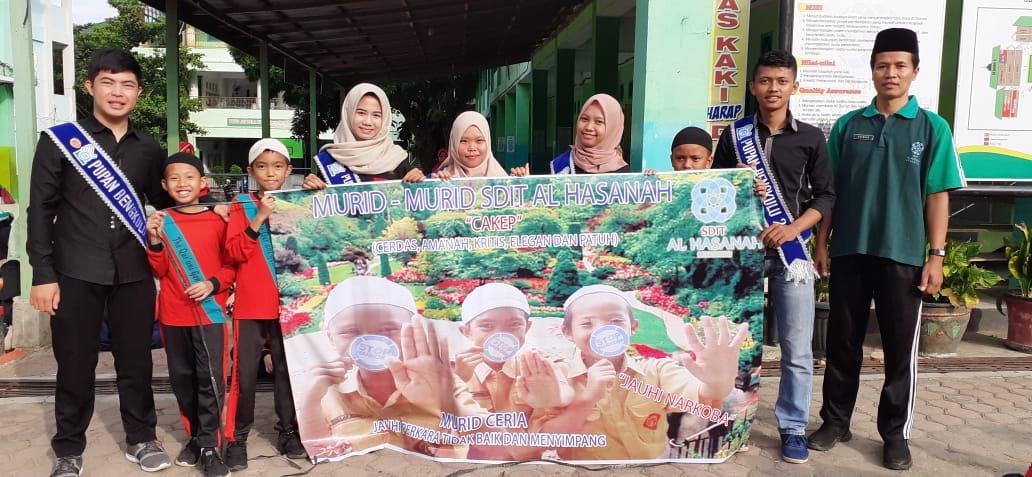 SDIT Al Hasanah dan BNN Kota Bengkulu Laksanakan Pencegahan Penyalahgunaan Narkoba