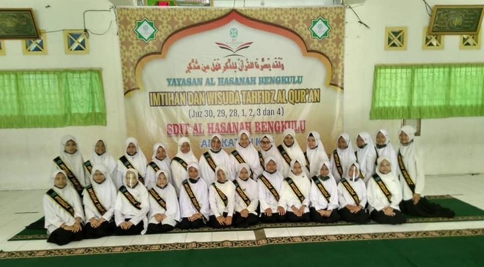 100 Siswa SDIT Al Hasanah 1 Ikuti Imtihan dan Wisuda Tahfizh ke-5