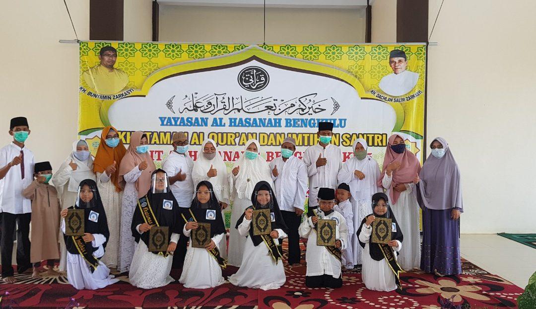 Khataman Al Quran dan Imtihan Santri Qiraati SDIT Al Hasanah 1 dan SDIT Al Hasanah 2