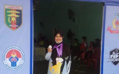 Siswa SDIT Al Hasanah 1 Juara 2 Panahan Tingkat Nasional